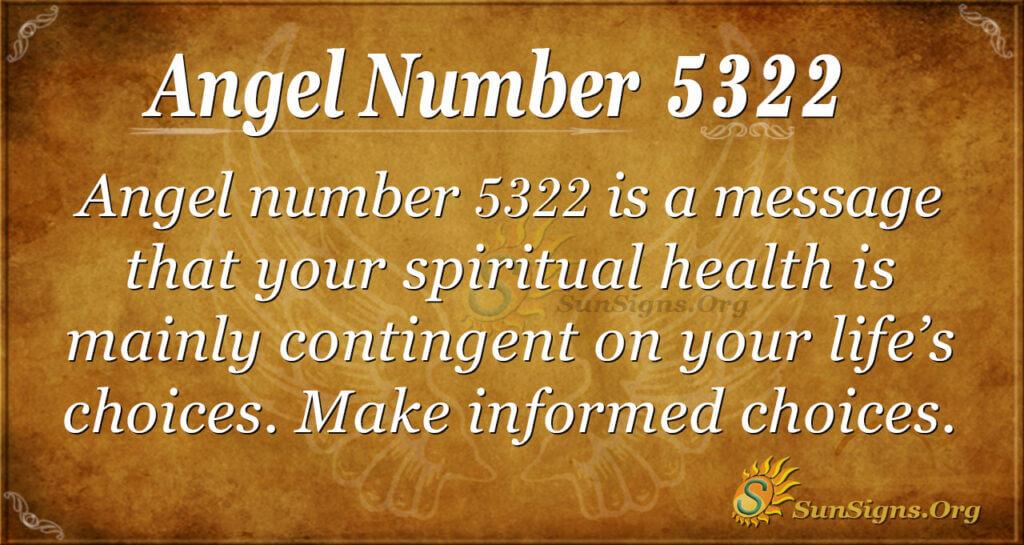 5322 angel number