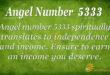 Angel number 5333