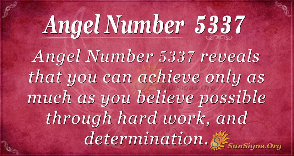 5337 angel number