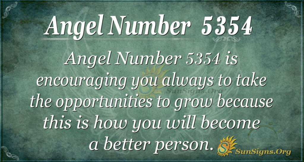 5354 angel number