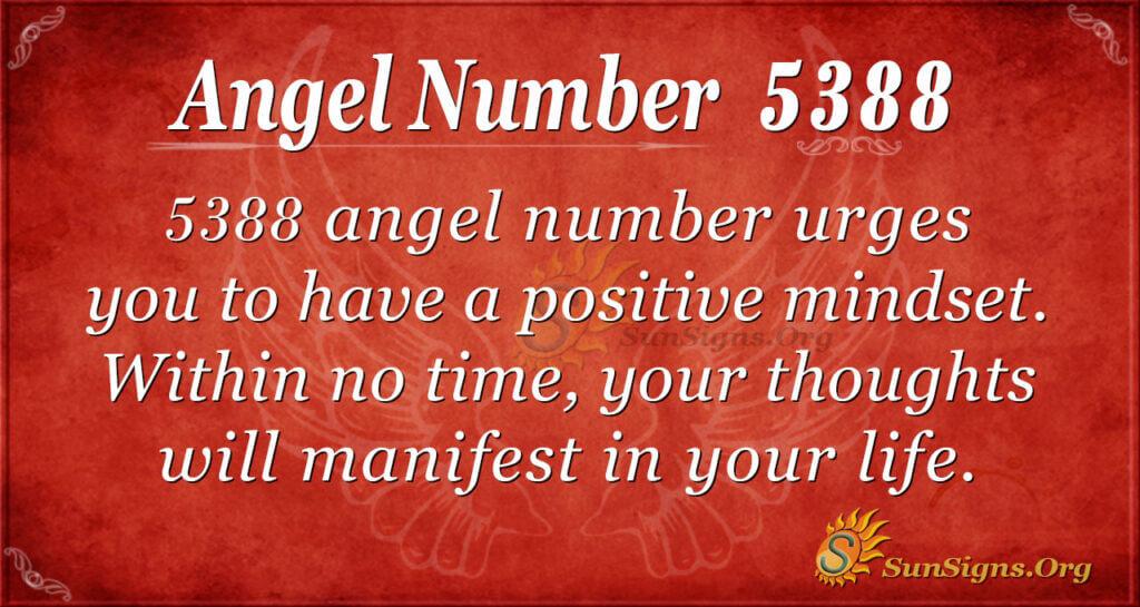 5388 angel number
