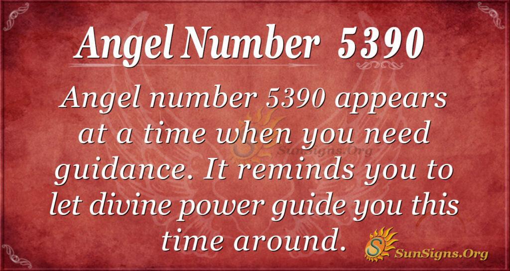 5390 angel number