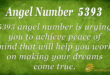 5393 angel number