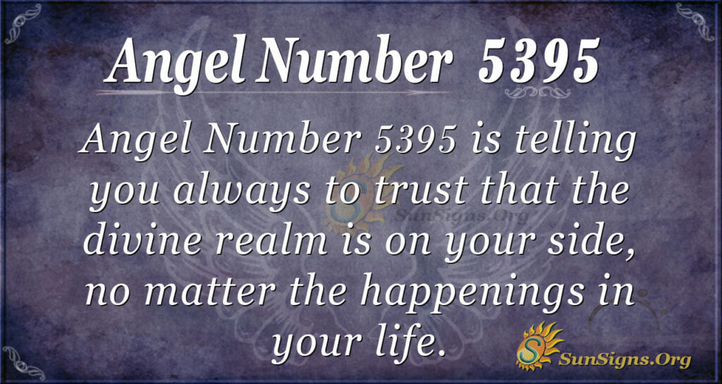 5395 angel number