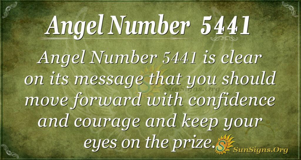 5441 angel number