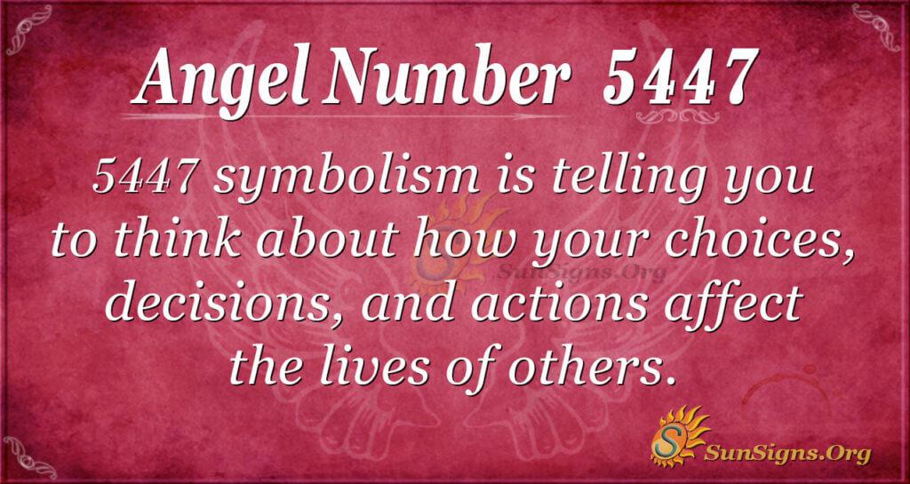 5447 angel number