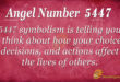 5447 angel number