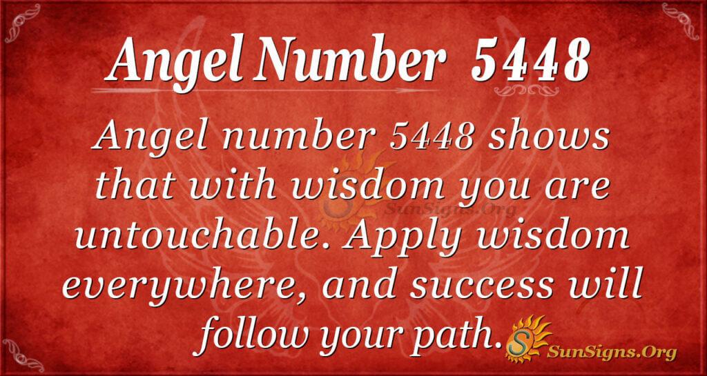 5448 angel number