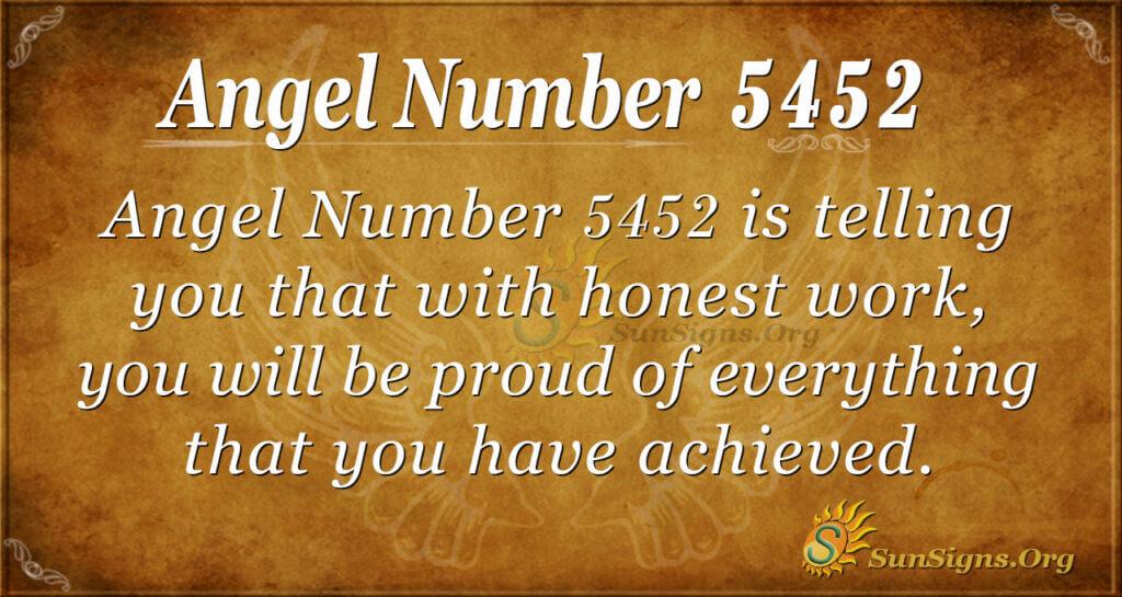 5452 angel number