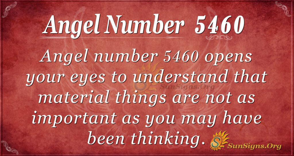 5460 angel number