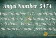 5474 angel number