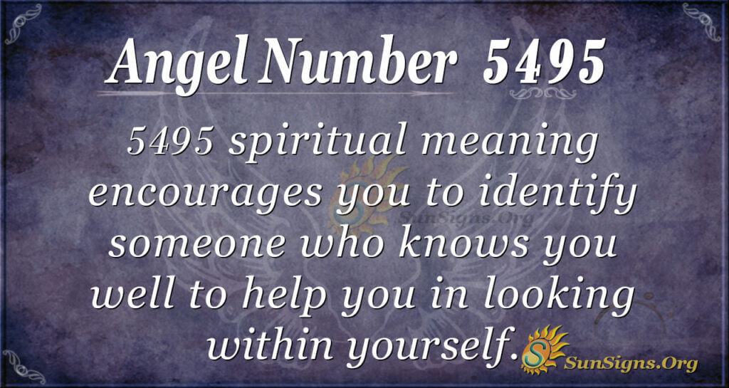 5495 angel number