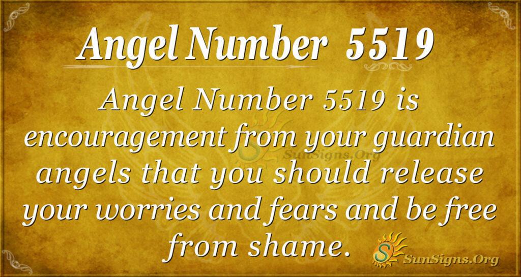 5519 angel number