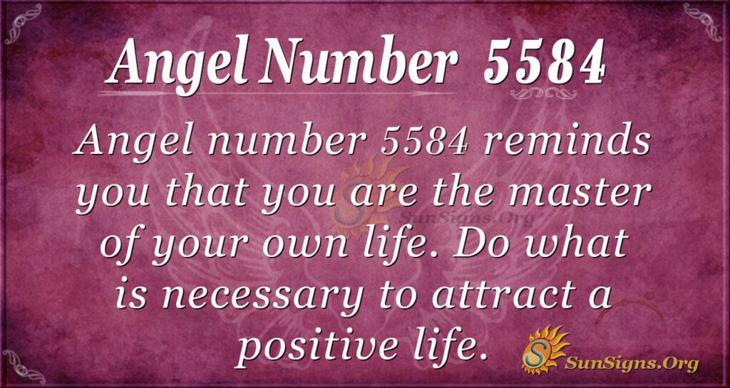 5584 angel number