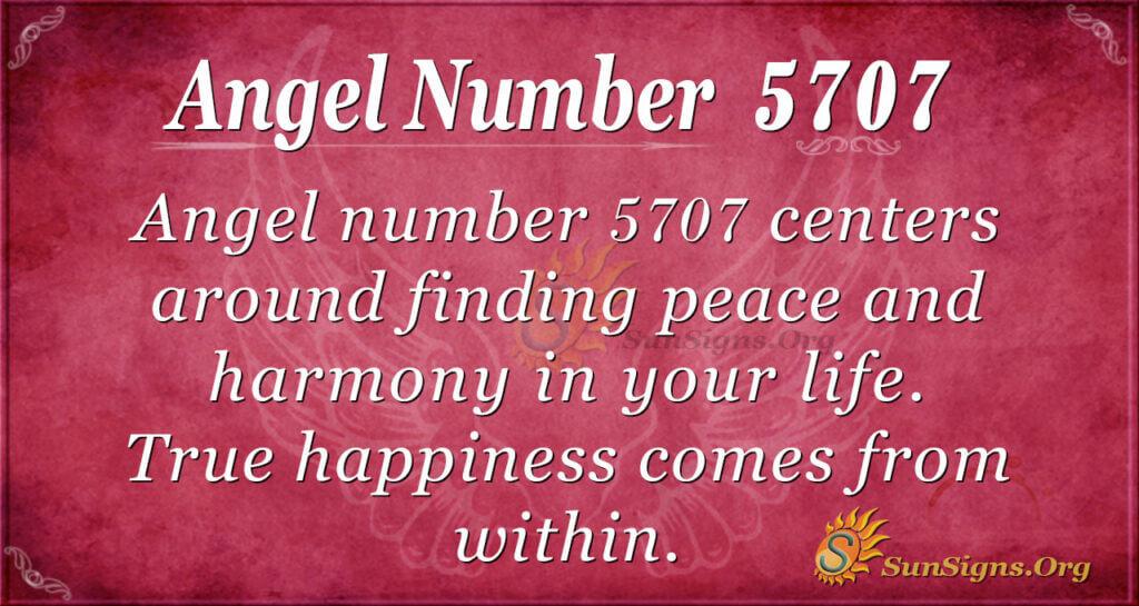5707 angel number