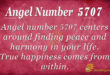 5707 angel number