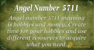 Angel number 5711