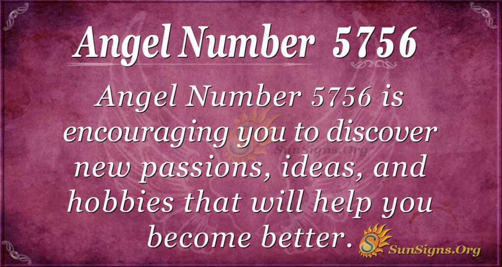 Angel number 5756