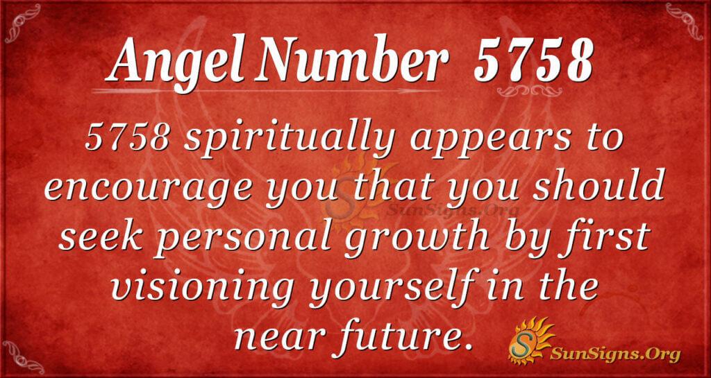 5758 angel number