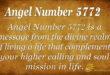 Angel Number 5772