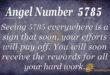 Angel number 5785