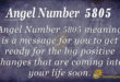 Angel Number 5805