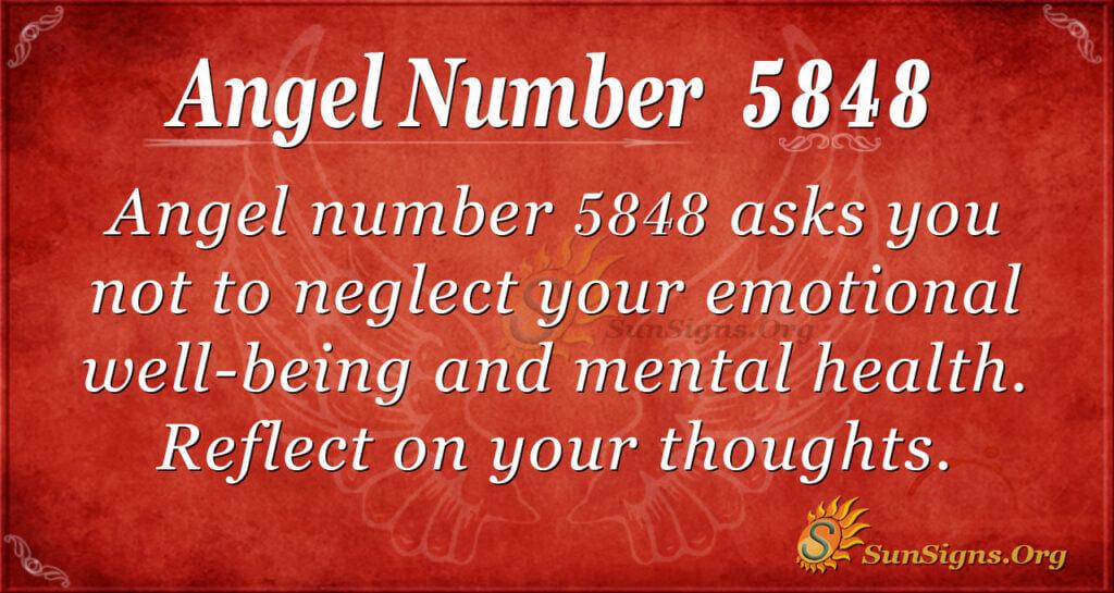 5848 angel number