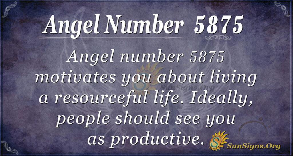 5875 angel number