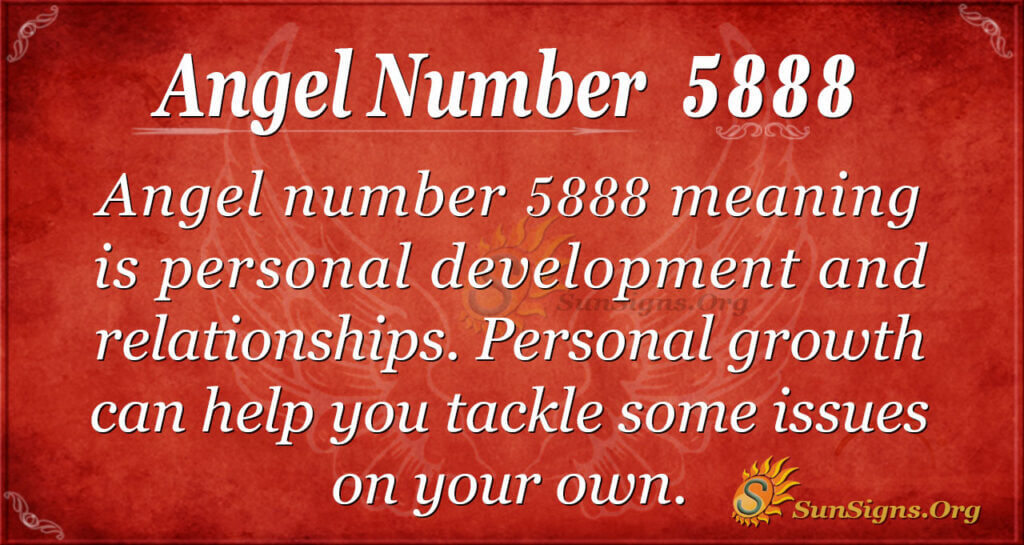 Angel number 5888