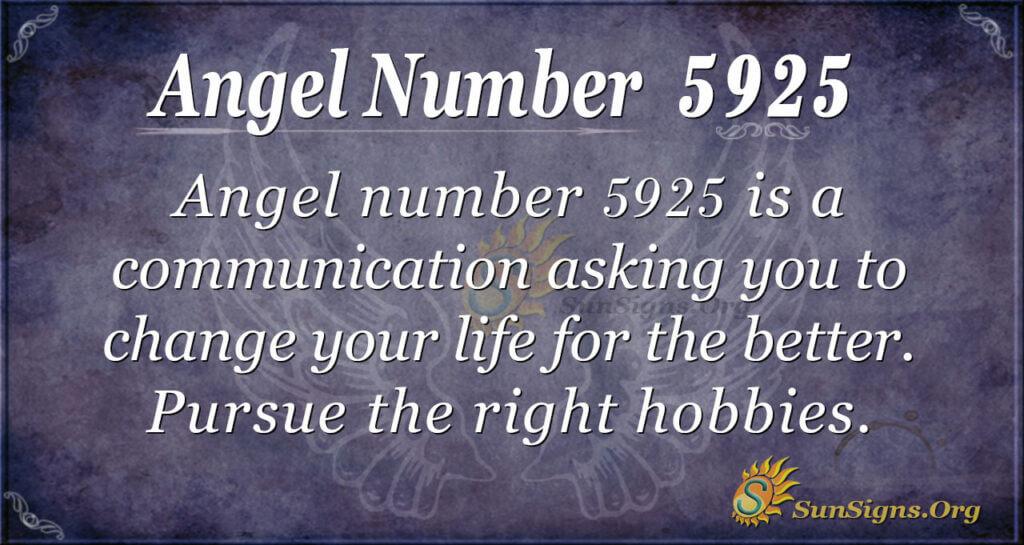 5925 angel number