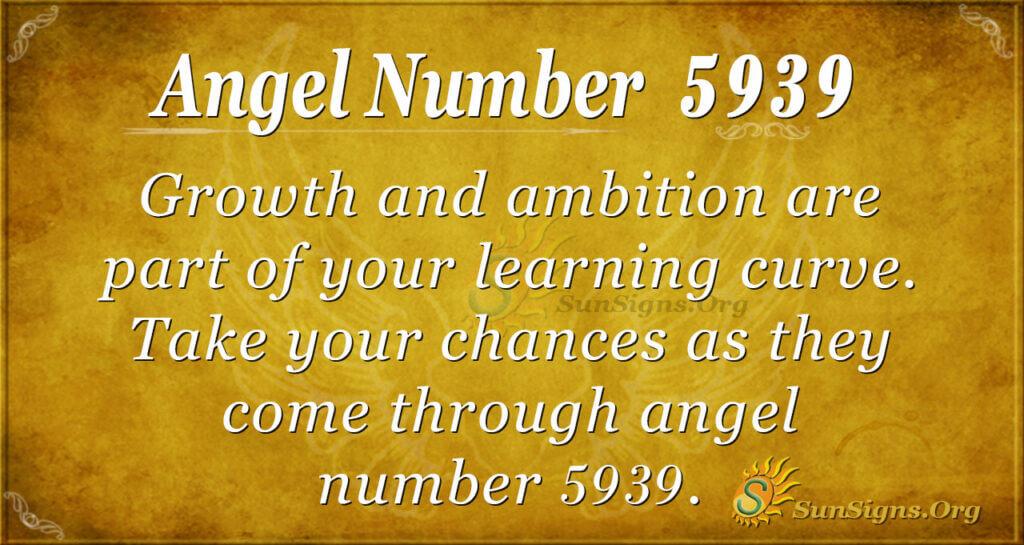 Angel number 5939