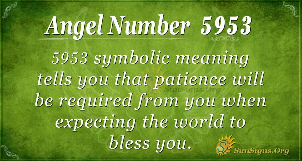 5953 angel number