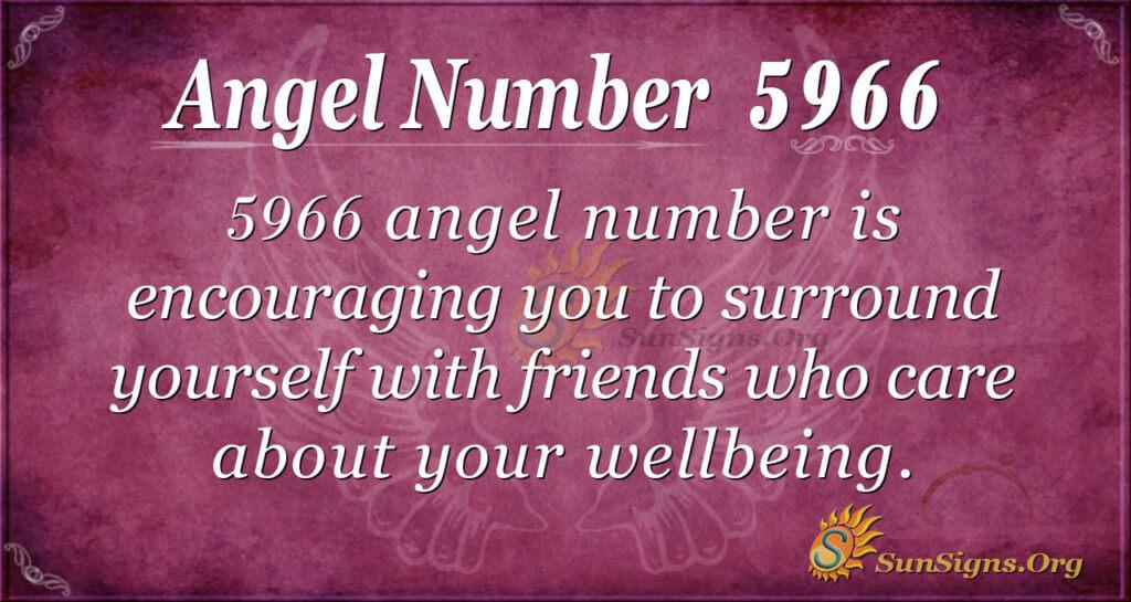 Angel Number 5966