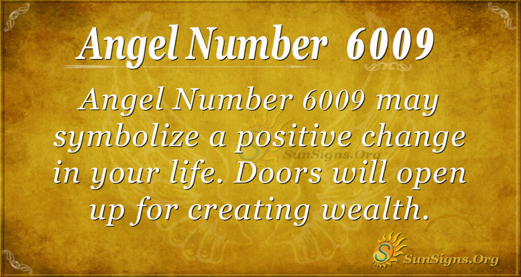6009 ange number