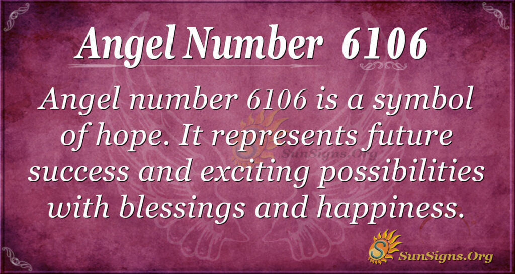 6106 angel number