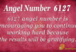 Angel number 6127