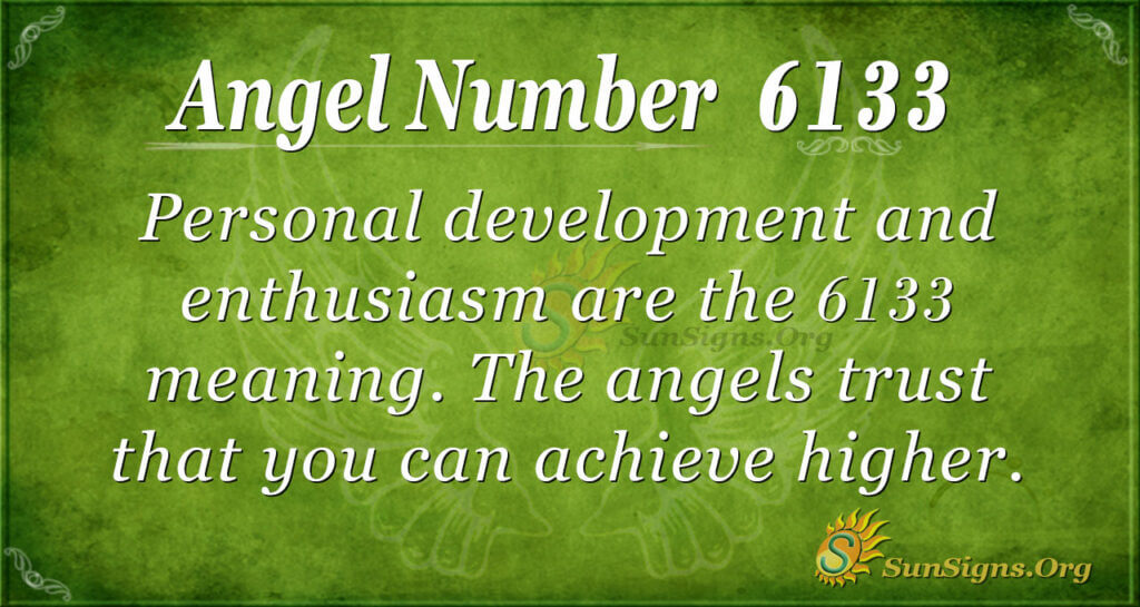 6133 angel number