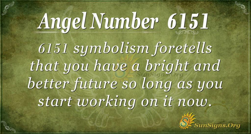 Angel Number 6151