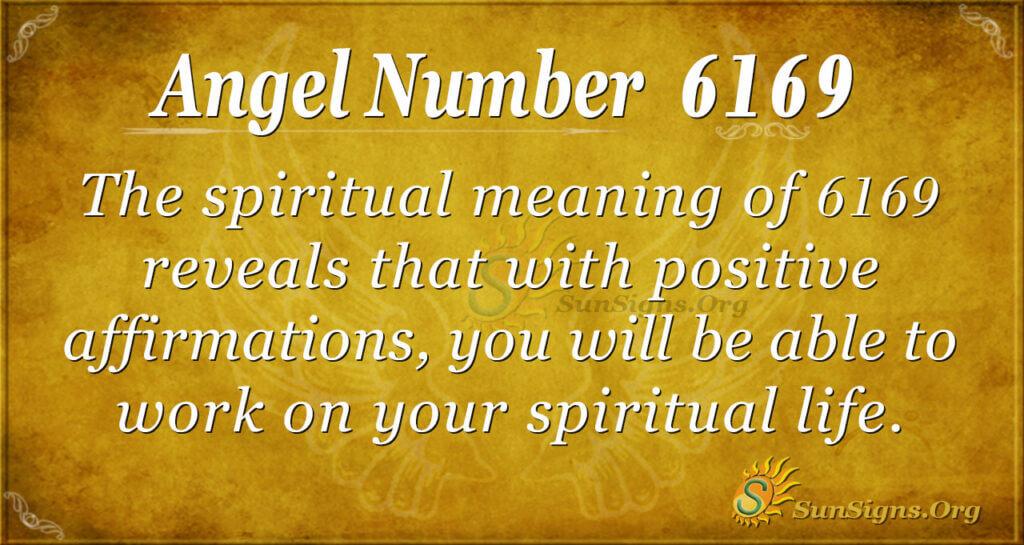 Angel number 6169