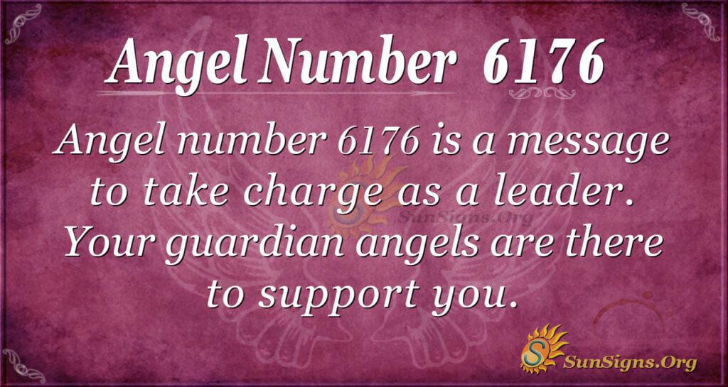 Angel number 6176