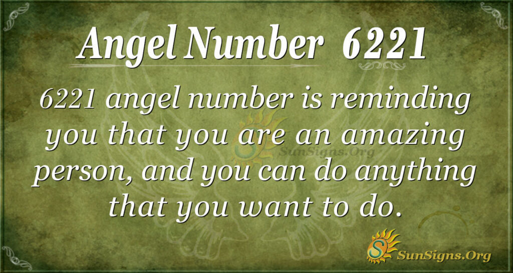 Angel Number 6221