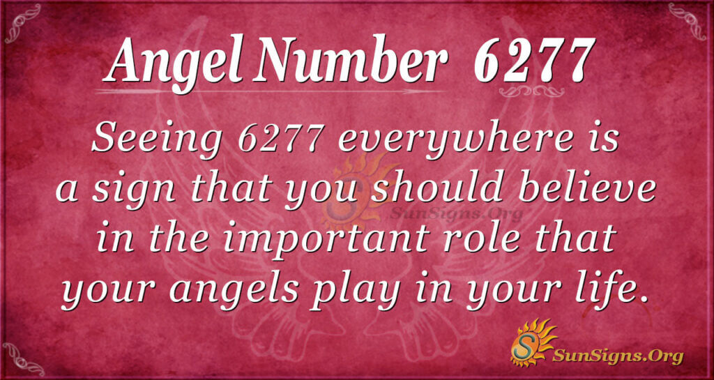 Angel Number 6277