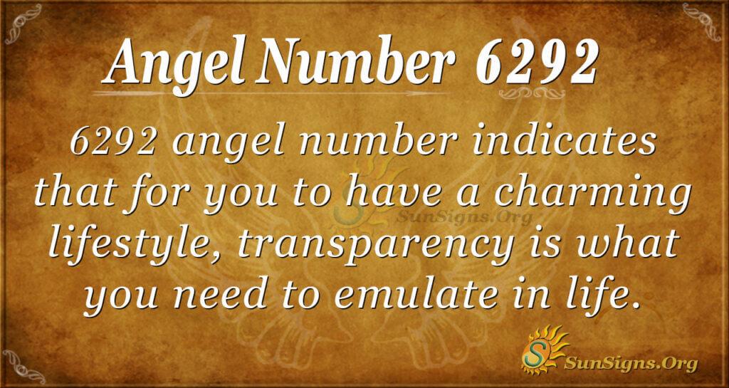 6292 angel number
