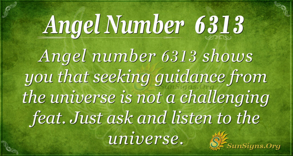 6313 angel number