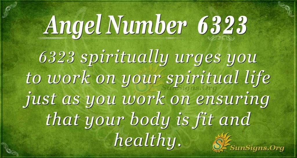 Angel number 6323