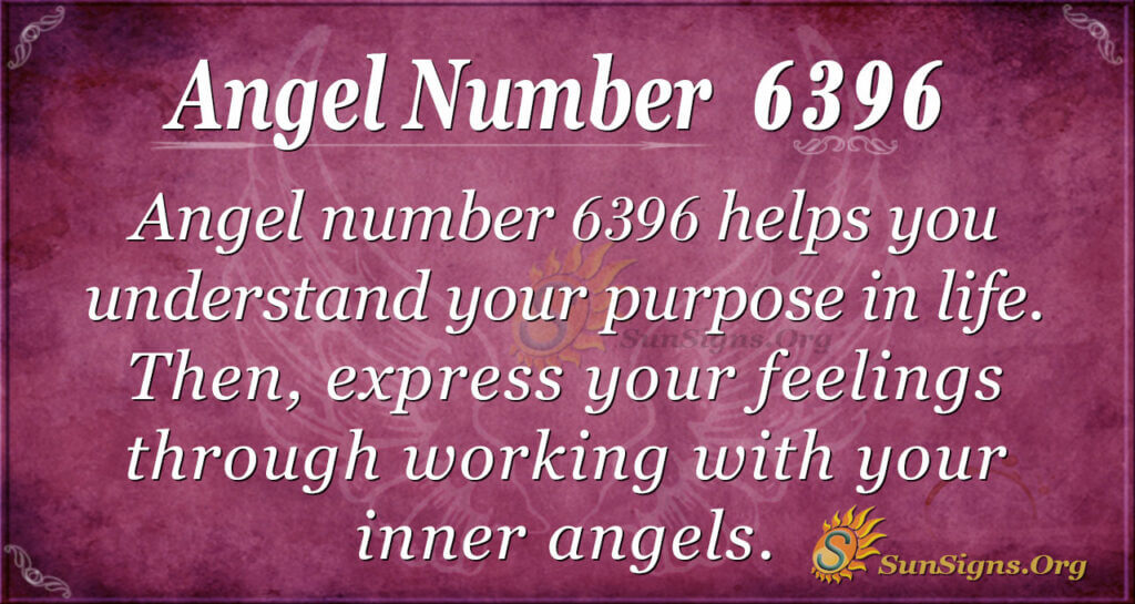 Angel number 6396