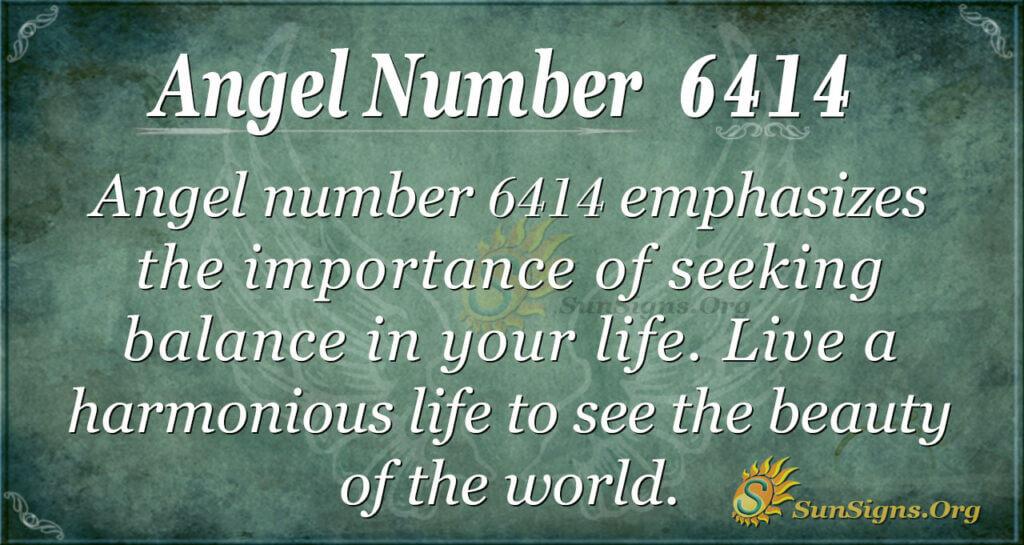 6414 angel number