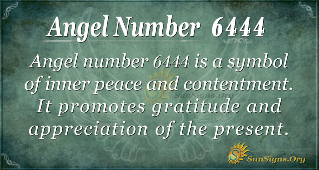 6444 angel number