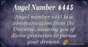 6445 angel number