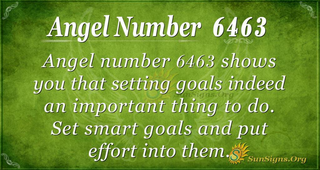 Angel Number 6463